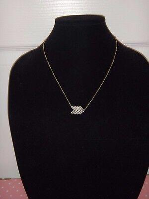 Michael Kors Women's Black Tie Affair Gold Tone MK Necklace Crystals MKJ6078710