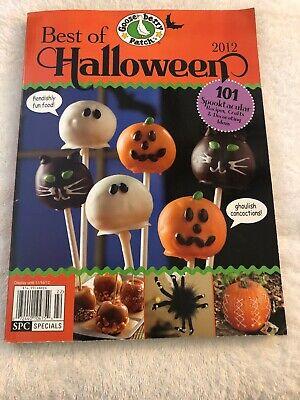 Magazine, Gooseberry Patch 2012 Best Of Halloween. 101 Ideas (Gooseberry Patch Magazine Halloween)