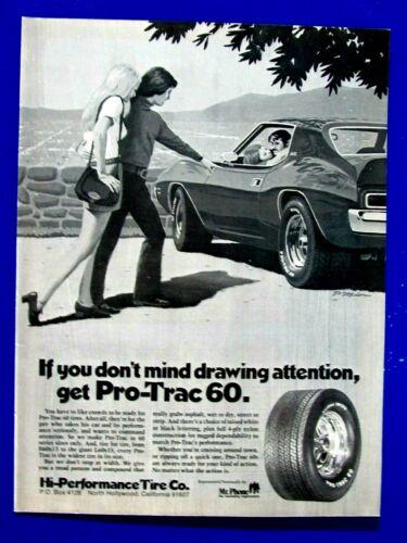 "1972 Pro Trac 60 North Hollywood Ca. Javelin AMX  Original Print Ad-8.5 x 11`"""