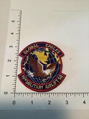 LARGE  U.S.A.F. 15TH MILITARY AIRLIFT  SQD.PATCH for sale  Mims