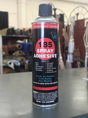 Vs 185 Spray Adhesive 12 Oz Can Bonds Foam Fabric Corrguated Carpet And More