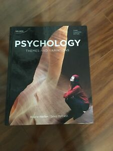 Psychology textbook for sale