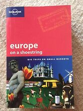 Europe on a shoestring Ridgley Burnie Area Preview