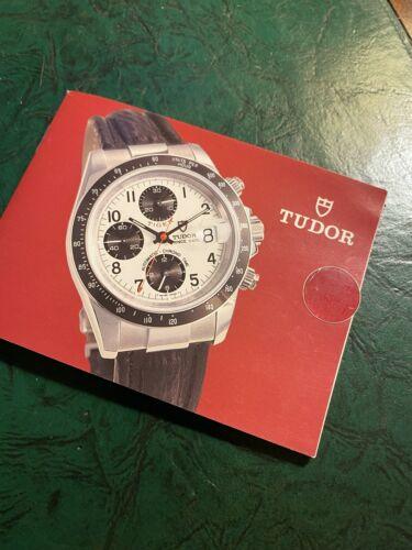 Tudor Tiger Chronograph Original Booklet