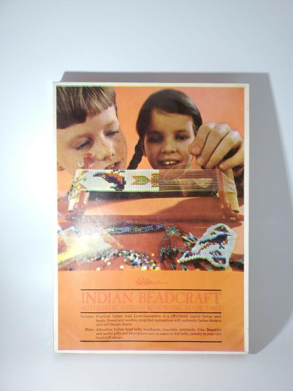 Vintage Indian Beadcraft Set Kit New Old Stock Walco No. 8810 Bracelet Armband