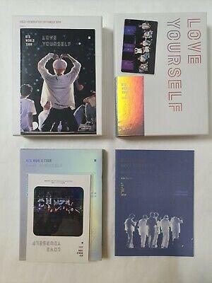 BTS Love Yourself SEOUL BLU-RAY Photo Card Full Set + V TAEHYUNG Photo Book