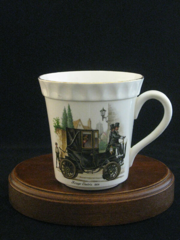 "Crown Staffordshire ""Krieger Electric 1904"" Fine Bone China Mug Made in England"