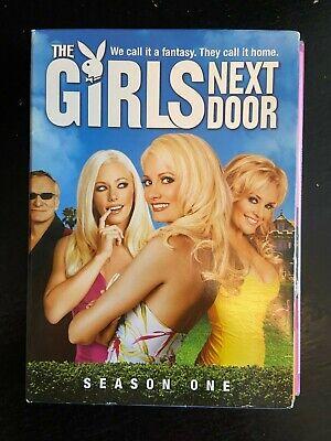 GIRLS NEXT DOOR Season 1 DVD 3 Disc SET with BOX ~ Like New!