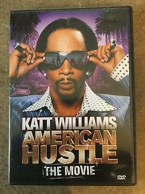 Katt Williams - American Hustle: The Movie (DVD, 2007) Stand Up-VERY GOOD CONDIT