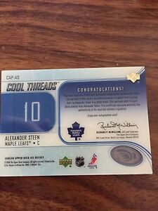 Mint condition Alexander Steen cool threads card /15 Cambridge Kitchener Area image 2