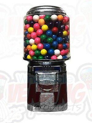Wholesale Vending Products All Metal Bulk Vending Gumball Candy Machine Black