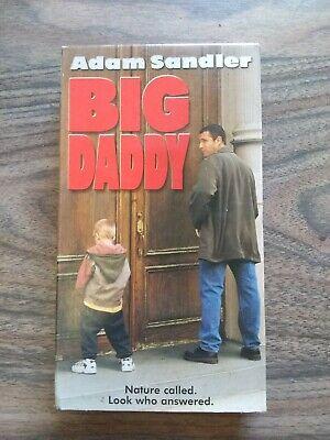 BIG DADDY - ADAM SANDLER - VHS VIDEO - 1999 - Adams Family Dad