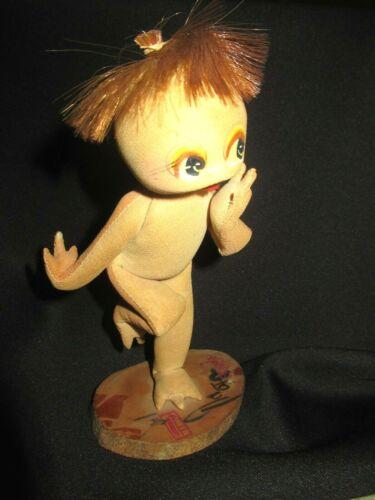 "Vintage Japanese Futaba Dollatelier ""Shibaten"" Kappa Artist Doll turtle spirit"