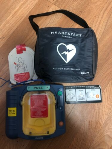 PHILIPS M5085A HeartStart HS1 OnSite Defibrillator TRAINER Package