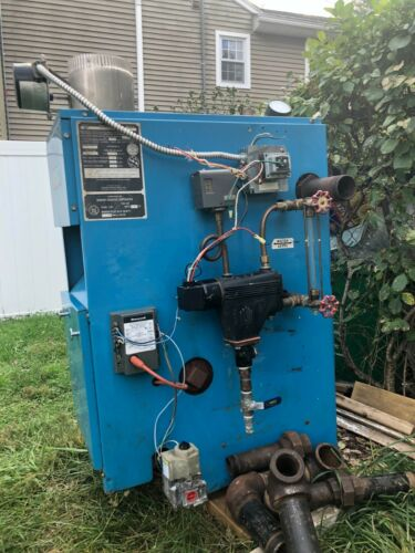 Gas- Fired Steam Boiler Crown Jamaica 112500 BTU Full Packaged