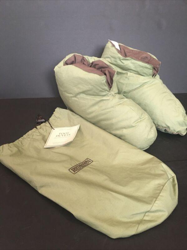 Restoration Hardware Duck Down Foot Duvets slippers Women 8-12 / Men 8-13 Saige