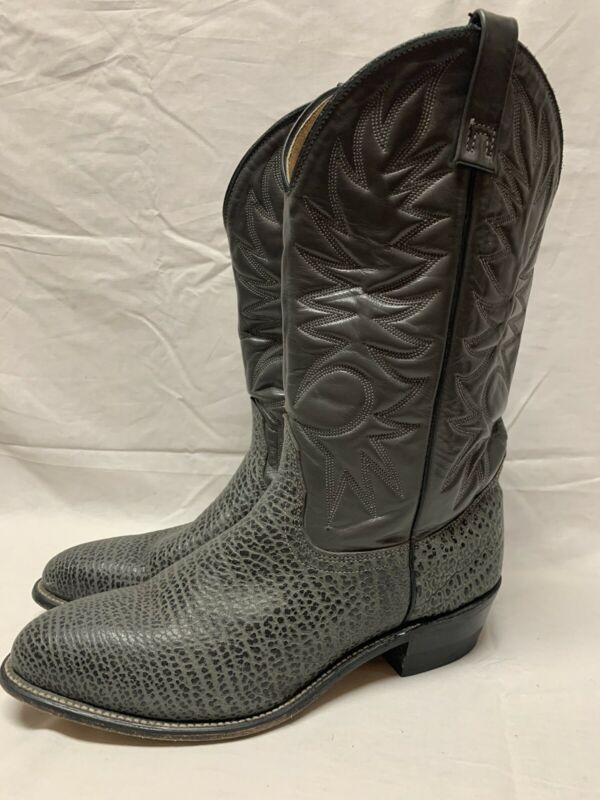 Leather Cowboy Boots Size 12 Brand Unkown