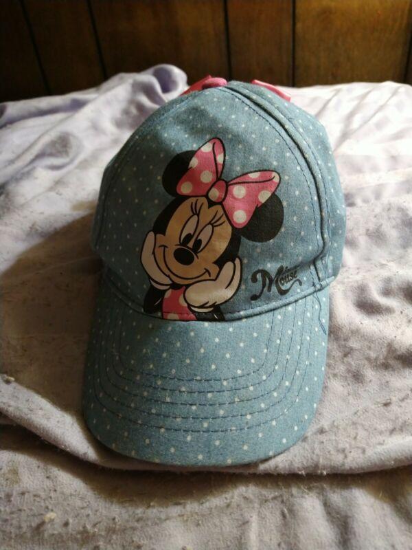 Toddler Minnie Mouse Baseball Cap