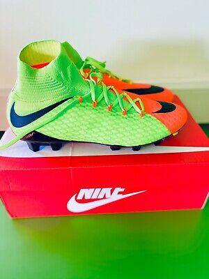 Nike Hypervenom Phatal III DF FG ~ 852554 308 ~ U.K. Size 9.5 ~ Euro 44.5