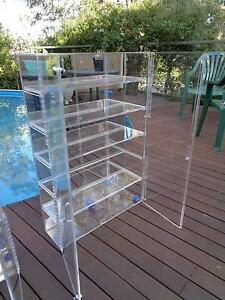 RETAIL DISPLAY CABINETS x2 - CUSTOM MADE Greensborough Banyule Area Preview