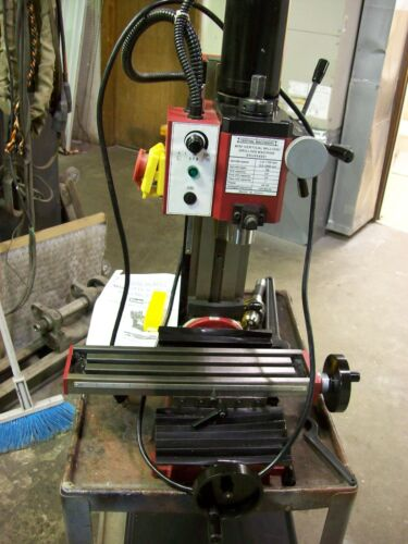 Central Machinery mini bench top milling machine