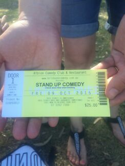 Comedy tickets Bray Park Pine Rivers Area Preview