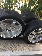 """Drift tec 17-9"""" wheels (ford,skyline, Silvia) Scarborough Redcliffe Area Preview"""