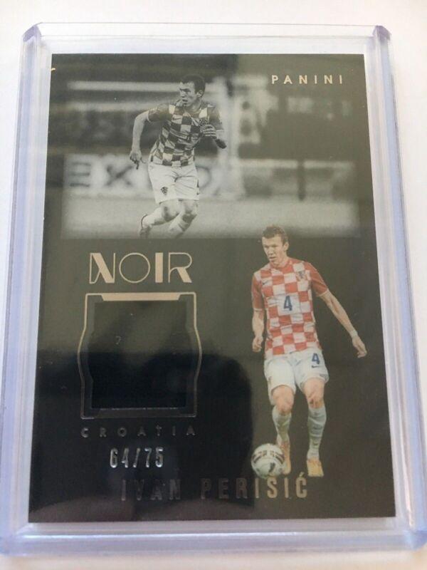 0f574c3b Panini Noir Soccer 2016-17 Acetate Patch Relic Memorabilia Ivan Perisic  64/75