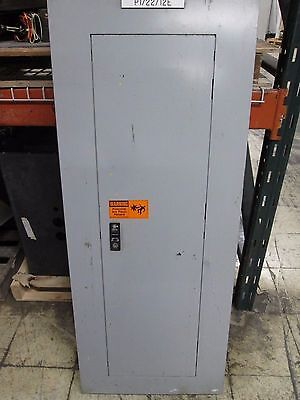 Ge Main Circuit Breaker Panel Aqf3422atx Axs5b4 225a 208120v 3ph 4w Used