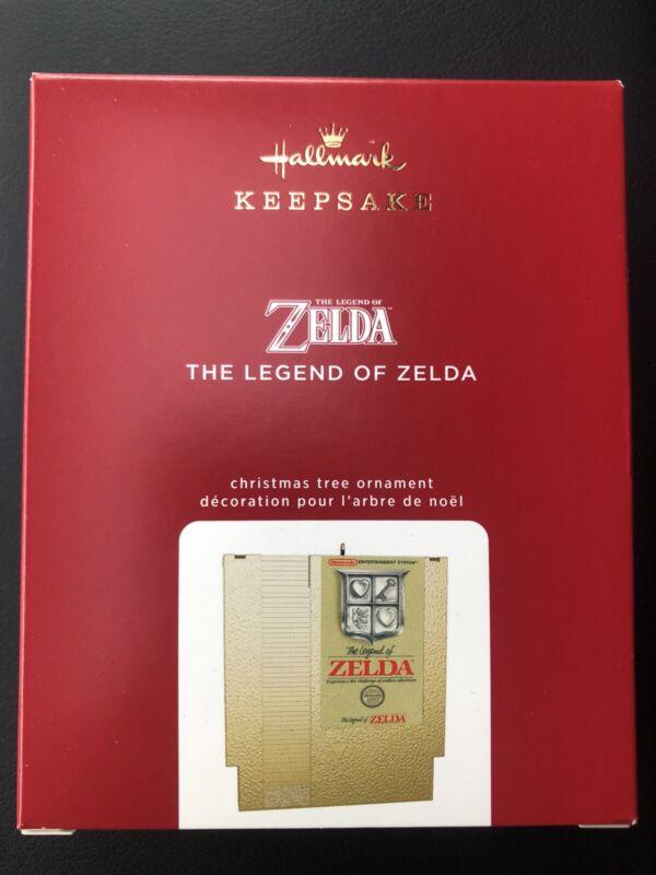 HALLMARK 2020 ZELDA THE LEGEND OF ZELDA METAL GAME CARTRIDGE ORNAMENT