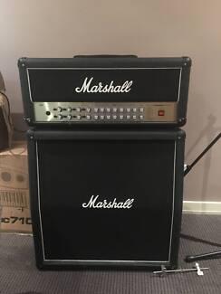 Guitar Amplifier: Marshall AVT150 Head + Cab (In Built Digital Ef