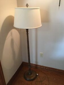 Floor Lamp - antique Jenny Lind style