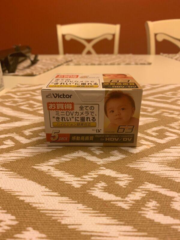 Victor M-DV63HDF5 Mini DV Tape