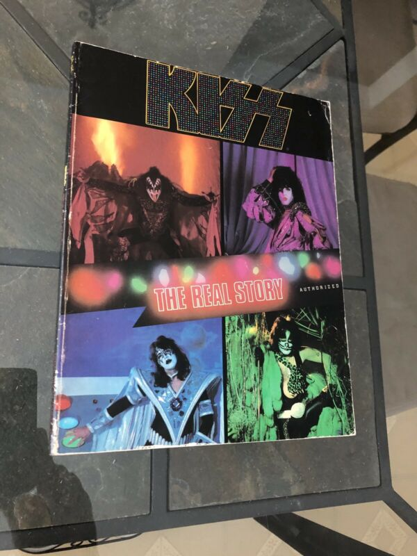 Kiss The Real Story Book