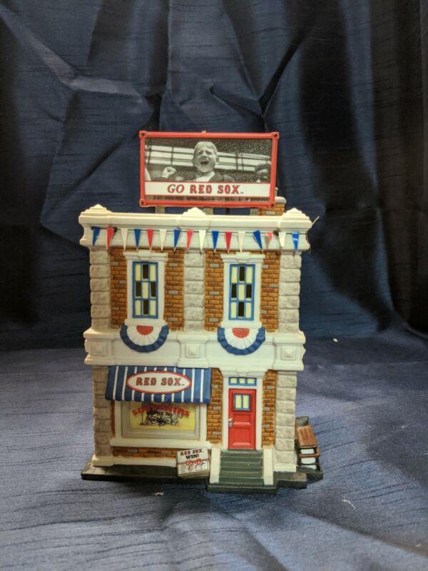 Dept 56 CIC - Boston Red Sox Souvenir Shop - RARE!!