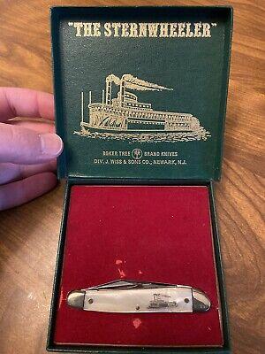 VINTAGE BOKER SOLINGEN GERMANY 280 LTD 1975 THE STERNWHEELER POCKET KNIFE NIB