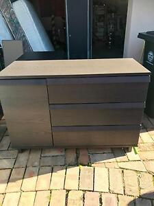 Timber Laminate Chested Drawers Stanhope Gardens Blacktown Area Preview