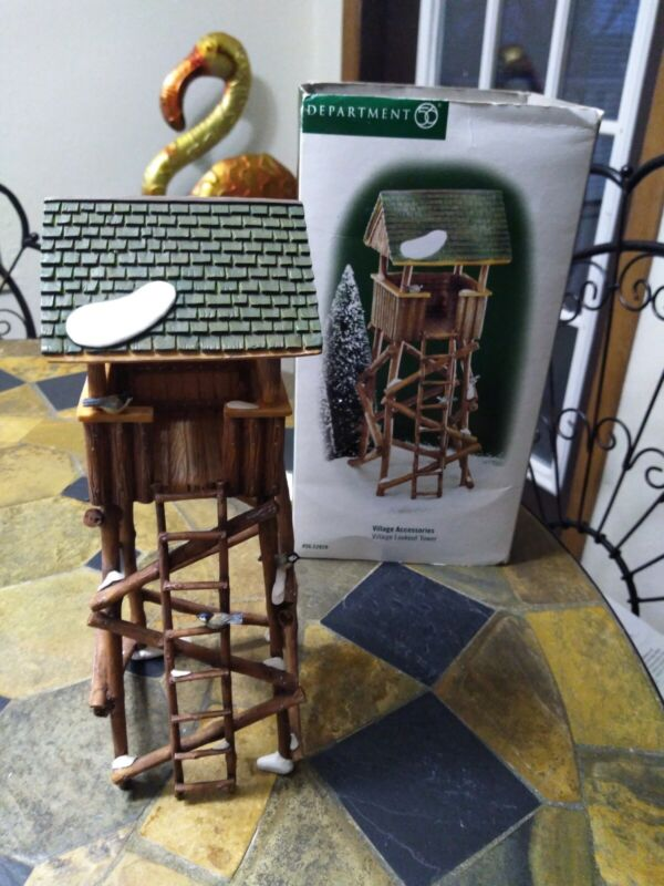 Dept 56 Village Lookout Tower