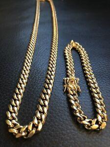 14k Gold Cuban Link Chain Ebay