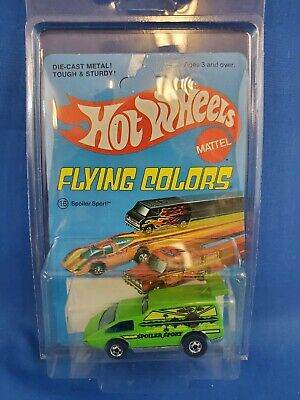 Hot Wheels Spoiler Sport On Flying Colors Card HK Base