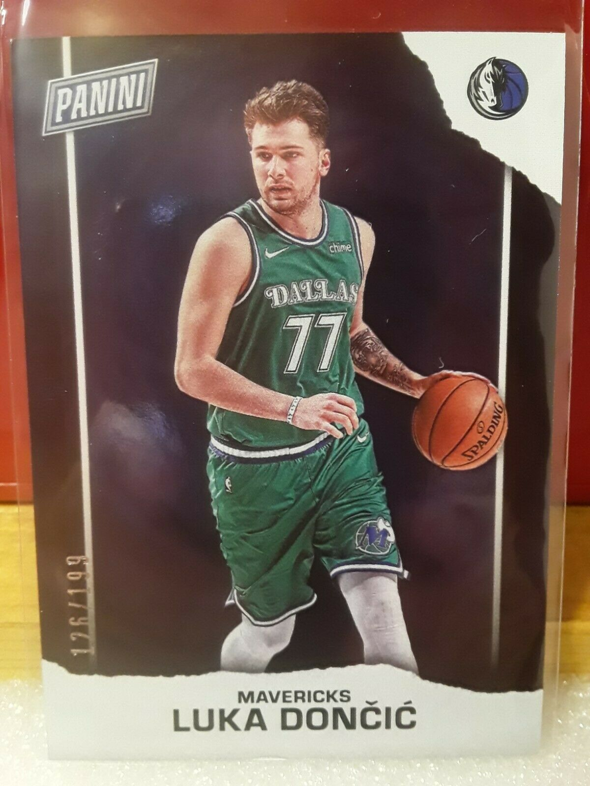2021 PANINI FATHERS DAY LUKA DONCIC SILVER PARALLEL 126/199 - $29.99