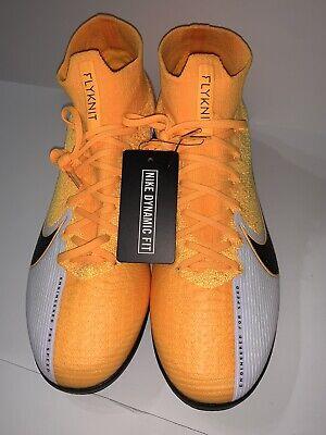 Nike Mercurial Superfly 7 Elite IC Men's Size 10 Indoor Soccer Orange AT7982-801