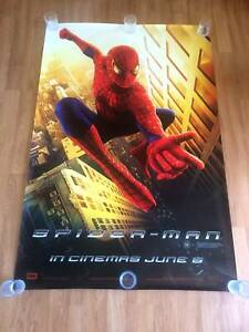 Spiderman Bus Shelter Poster - Screenprinted 150gsm - NEW