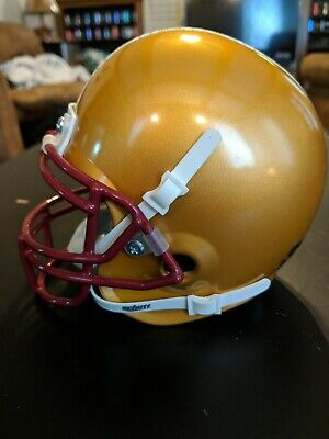 Boston College Mini Helmet - BOSTON COLLEGE EAGLES SCHUTT Mini Helmet NCAA ACC BC ART ALTERNATE