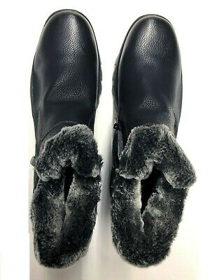Men's Black Winter Snow Boots Shoes Warm Thermolite Waterproof best (Best Mens Waterproof Shoes)