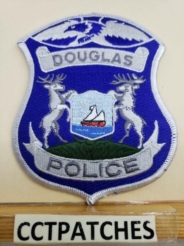 DOUGLAS, MICHIGAN POLICE SHOULDER PATCH MI