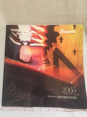 Ibanez 2005 Collectors catalog guitars and basses pedals and more 128 pages for sale  Brookfield
