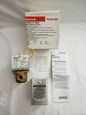 Honeywell V8043e1004 12 Electric Sweat Zone Valve Genuine Free Shipping