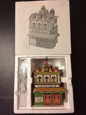 "Dept 56 Dickens' Village Series ""Theatre Royal"" 56-5584-0 Retired NEW In Box"