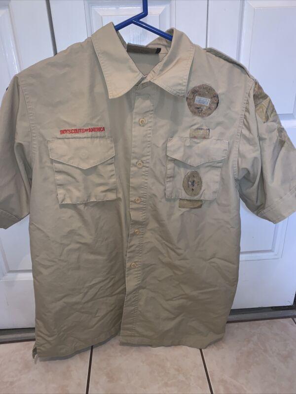 Boy Scout BSA UNIFORM SHIRT New Style  Adult Men